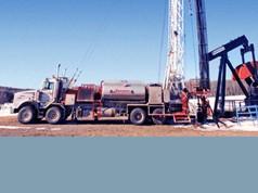 Vrtací zařízení pro ropu a plyn (stacionární)
