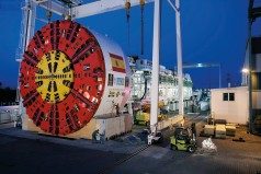 Tunelové razicí stroje